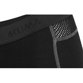 Aclima WoolNet Long Shorts Damen jet black